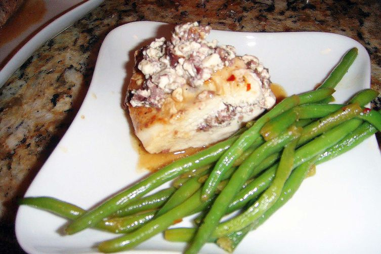 Feta and Olive Stuffed Chicken