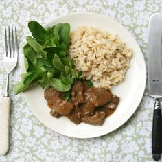 Beef Liver with Red Wine Sauce