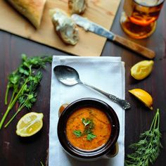 Greek Style Chickpea soup