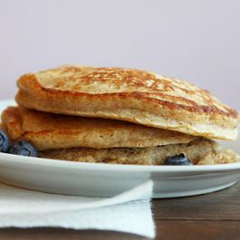Buttermilk Blueberry-Lemon Pancakes