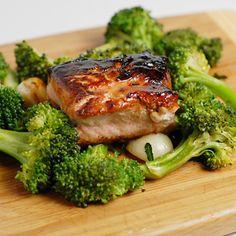 Gluten Free Salmon Kabayaki