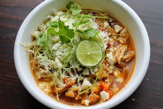 Quick Chicken Pozole