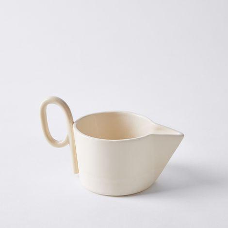 Handmade Ceramic Loop Gravy Boat