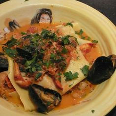 SEAFOOD BOLOGNESE