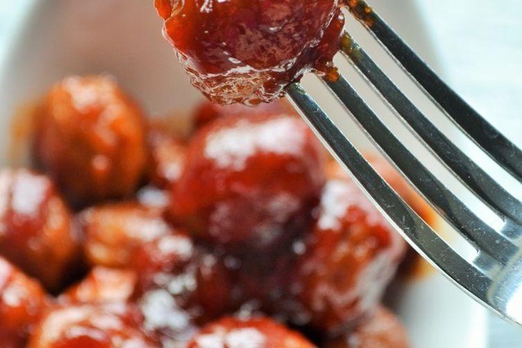 Spicy Crockpot Meatballs