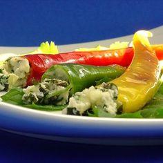 """Caribbean -Yucatan"" Lime Cilantro Mint Swordfish Stuffed Poblanos"