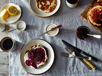 Meet the Pancake That's the Official Snack of Norwegian Ferries