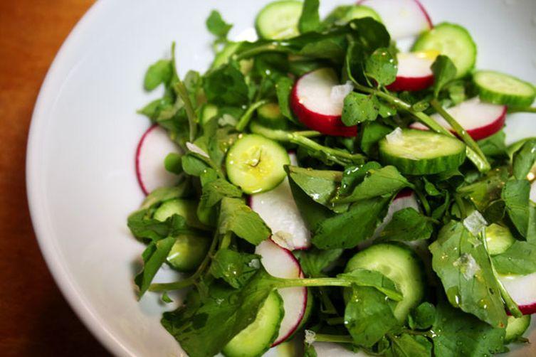 Crunchy, Spicy Salad