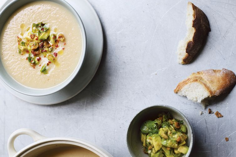 CAULIFLOWER CARAWAY POTATO SOUP