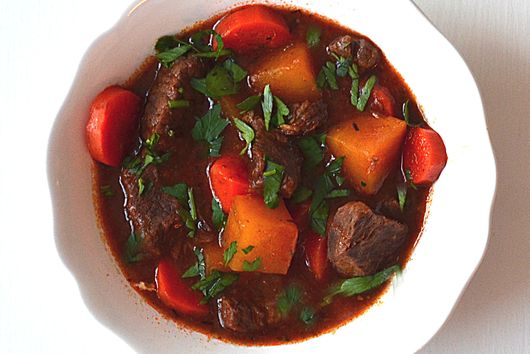 Beef Stew with Root Vegetables ~ Delicious Rich Flavor ~ One Pot
