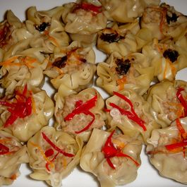 Shrimp and Pork Dumplings