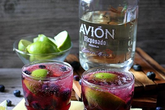 Blueberry Lime Smash