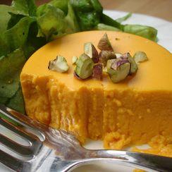 Savory Carrot Panna Cotta