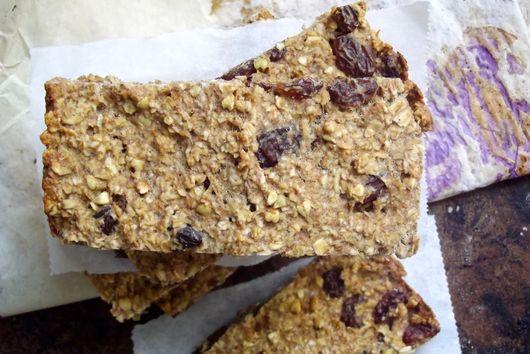 Chewy Buckwheat Oat Granola Bars
