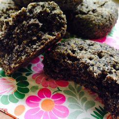 Buckwheat and Black Sesame Scone