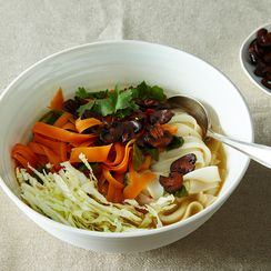 Mushroom and Vegetable Pho