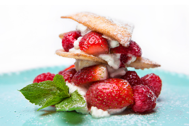 Strawberry Shortstack Recipe by Kitchen Crafted