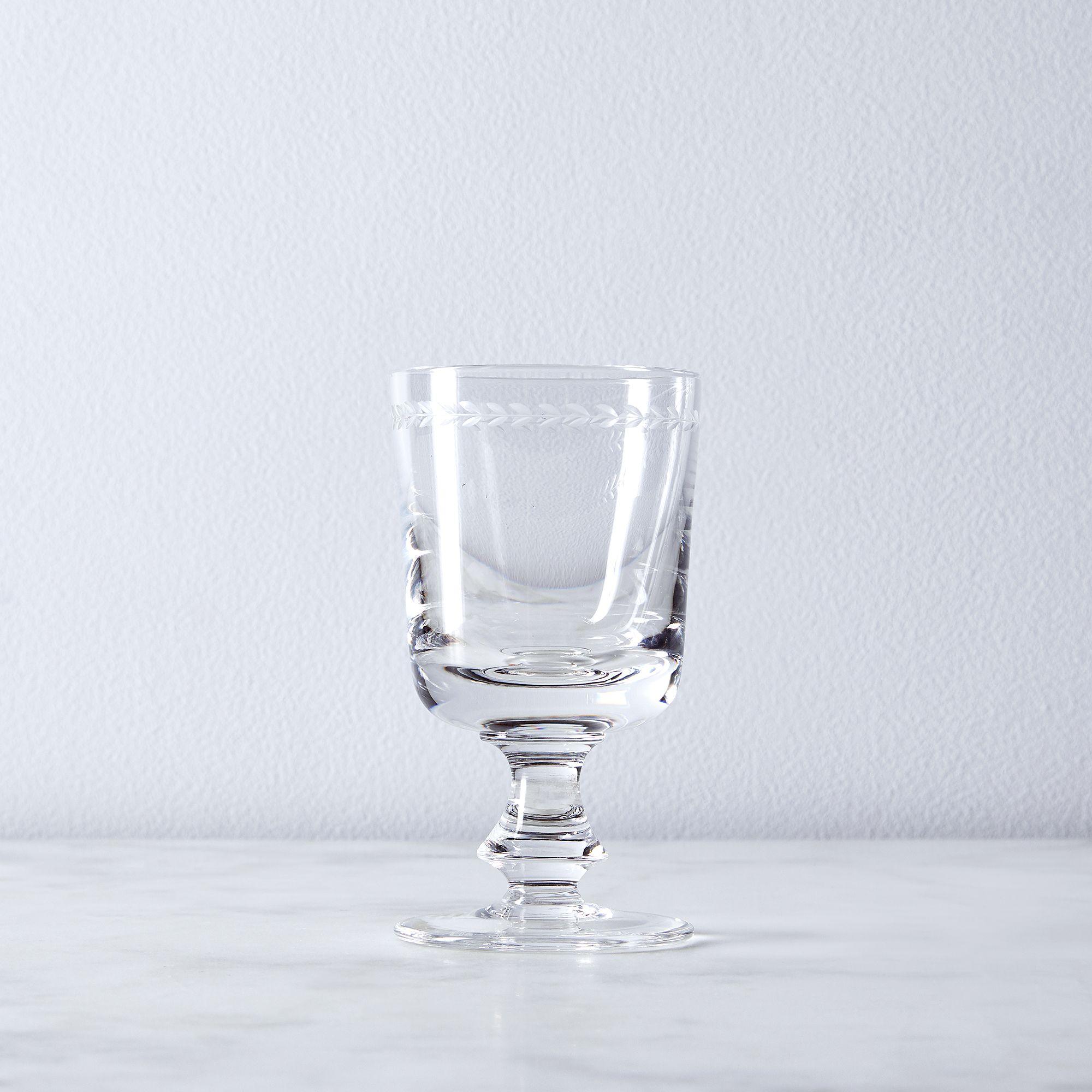 Leaves Vintage Italian Crystal Glassware on Food52