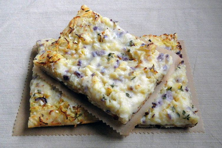 Potato Pizza Bianca