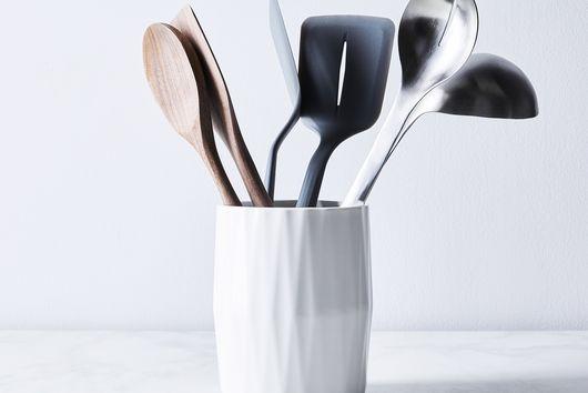 Ceramic Crock & Utensil Set
