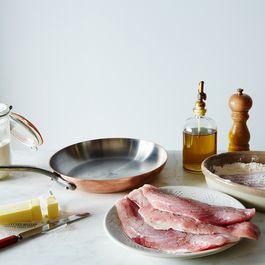 "Mauviel M'héritage Copper 10.2"" Frying Pan"