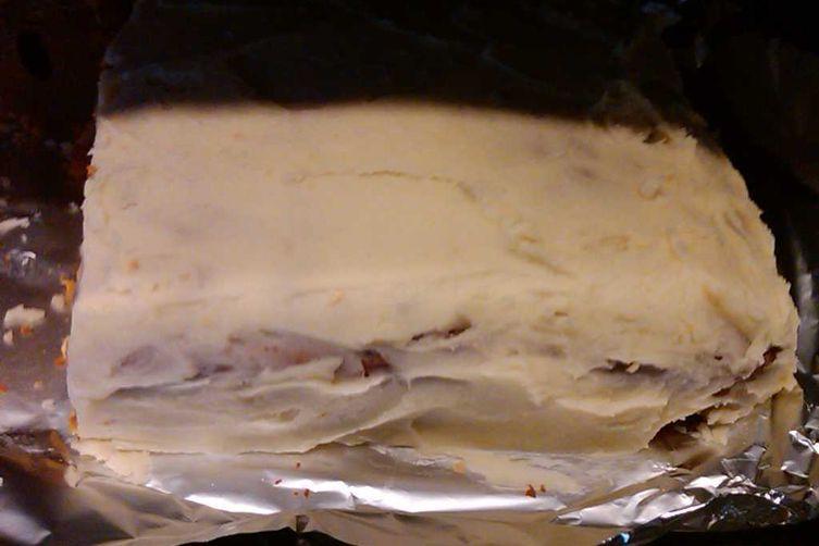 White Chocolate Sweet Potato Cake