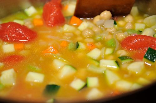 Smoky Minestrone with Tortellini and Parsley or Basil Pesto Recipe on ...