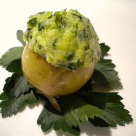 Chimichurri Potato Bites