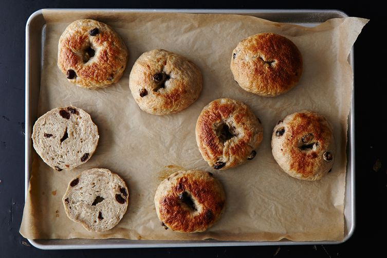Cinnamon Raisin Bagels Recipe on Food52