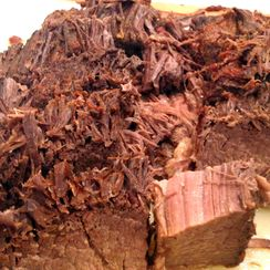Slightly Spicy Beef Brisket