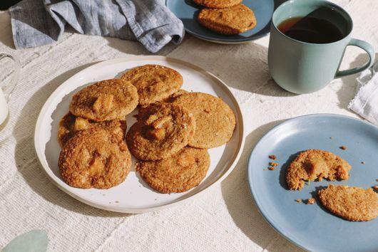 Brown Butter Pumpkin Cookies