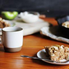 Apple Yogurt Breakfast Cake