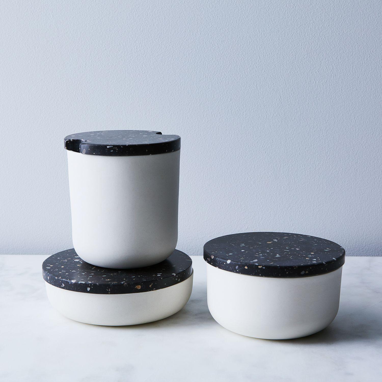 Corian Amp Stoneware Salt Cellar On Food52