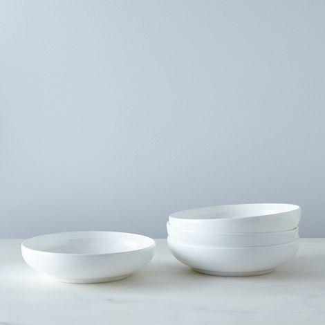 Purio White Soup Bowls (Set of 4)
