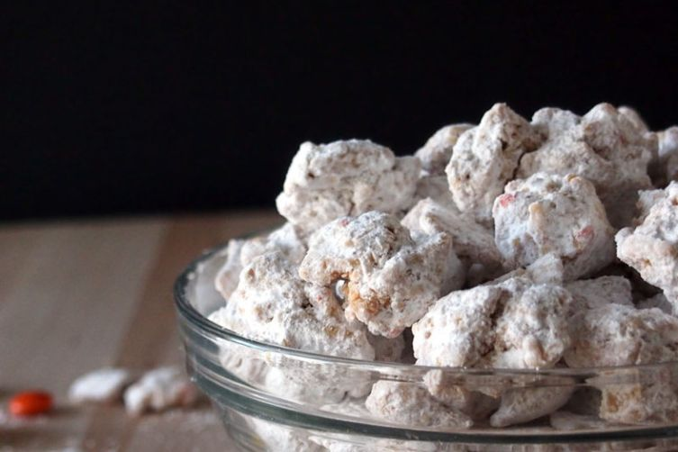 Triple Peanut Butter Puppy Chow