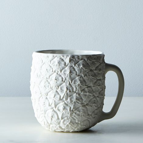 Porcelain Pineapple Mug