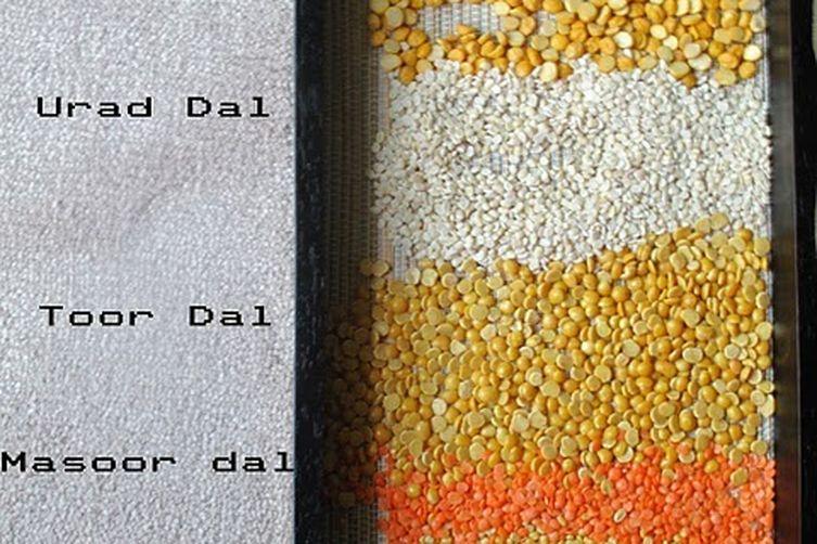 Mix Indian Lentils Soup - uses 5 types of lentils