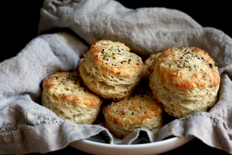 Cacio e pepe biscuits recipe on food52 for Table 52 biscuit recipe