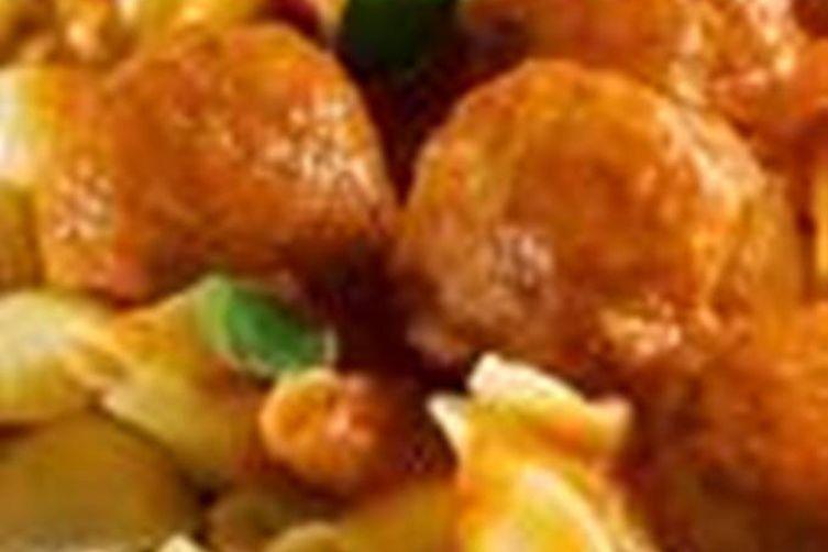 Mama's Picadillo  Meatballs