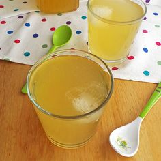 Lemonade with lemongrass
