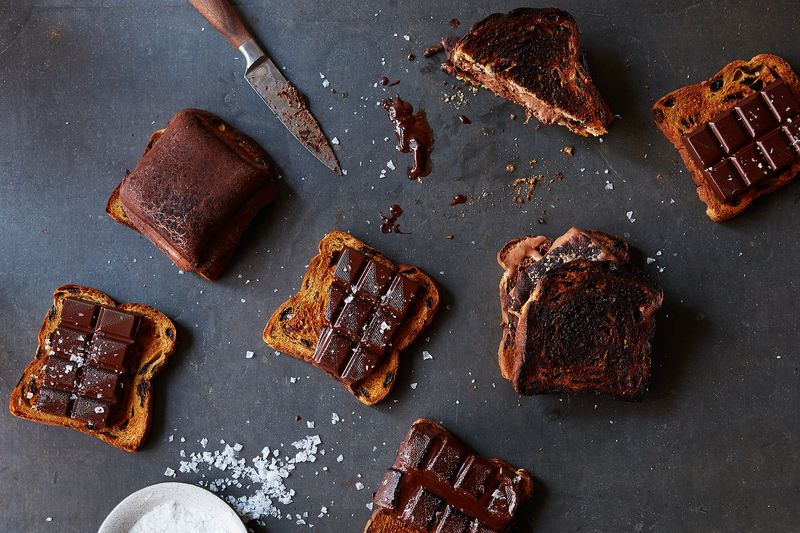 Burnt Cinnamon Toast & Chocolate S'more