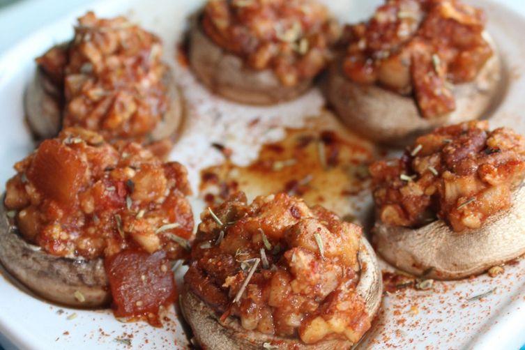 Vegan Stuffed Mushroom