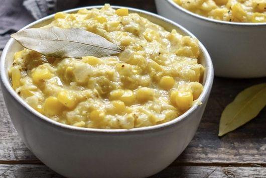 Homemade Vegan Creamed Corn