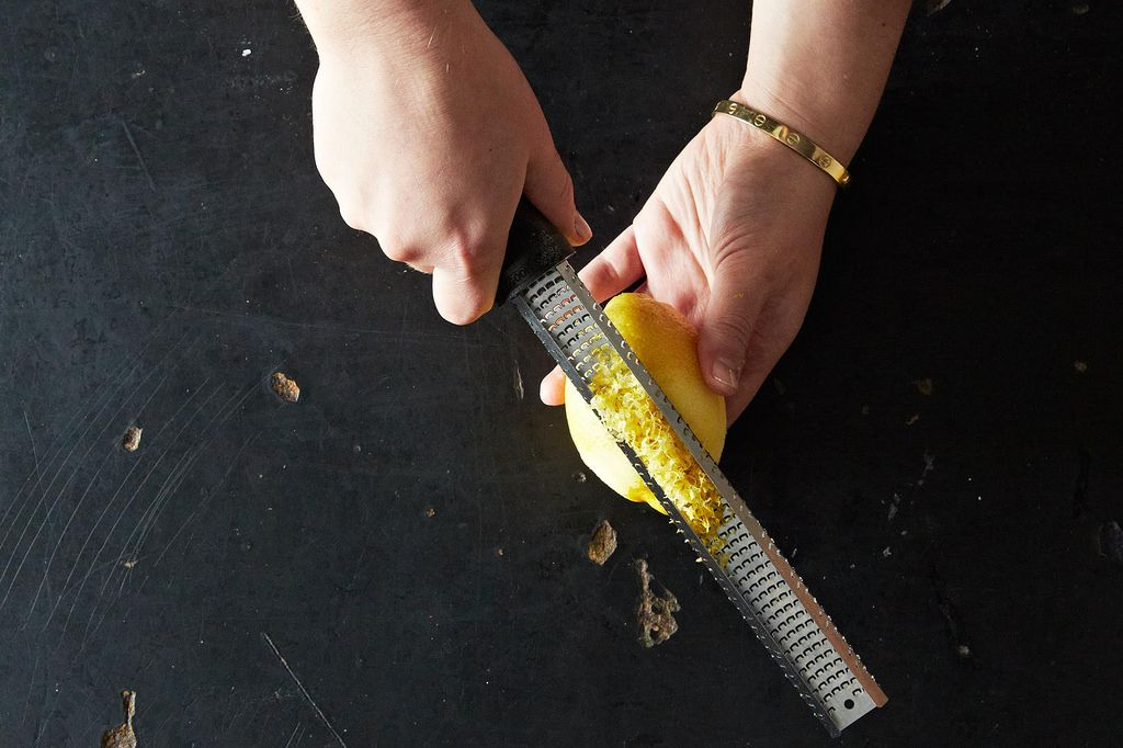 A Trick for Zesting Citrus from Food52