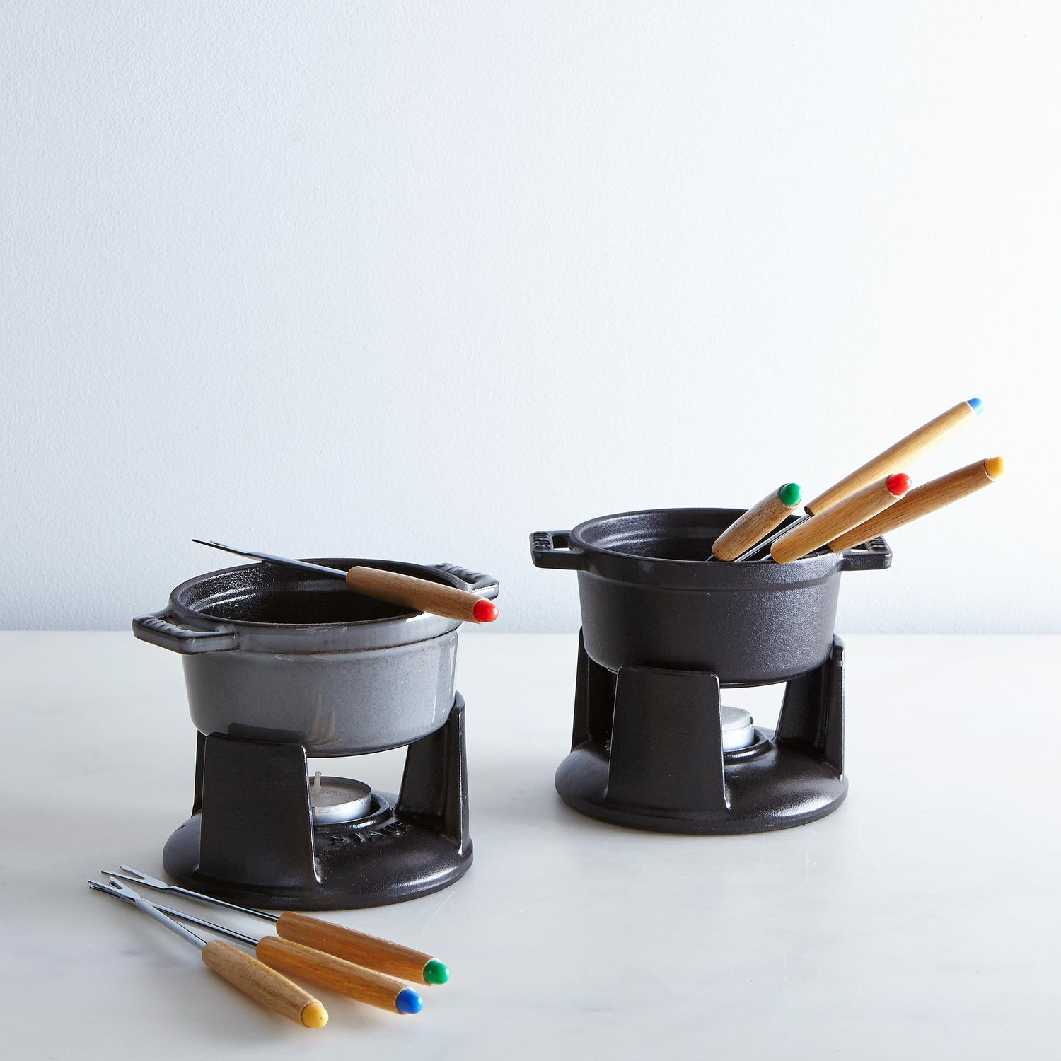 Staub Mini Chocolate Fondue Set On Food52