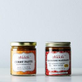 Curry Paste & Tandoori Marinade (Set of 2)