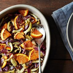 Molly Stevens' Roasted Fennel, Red Onion, and Orange Salad