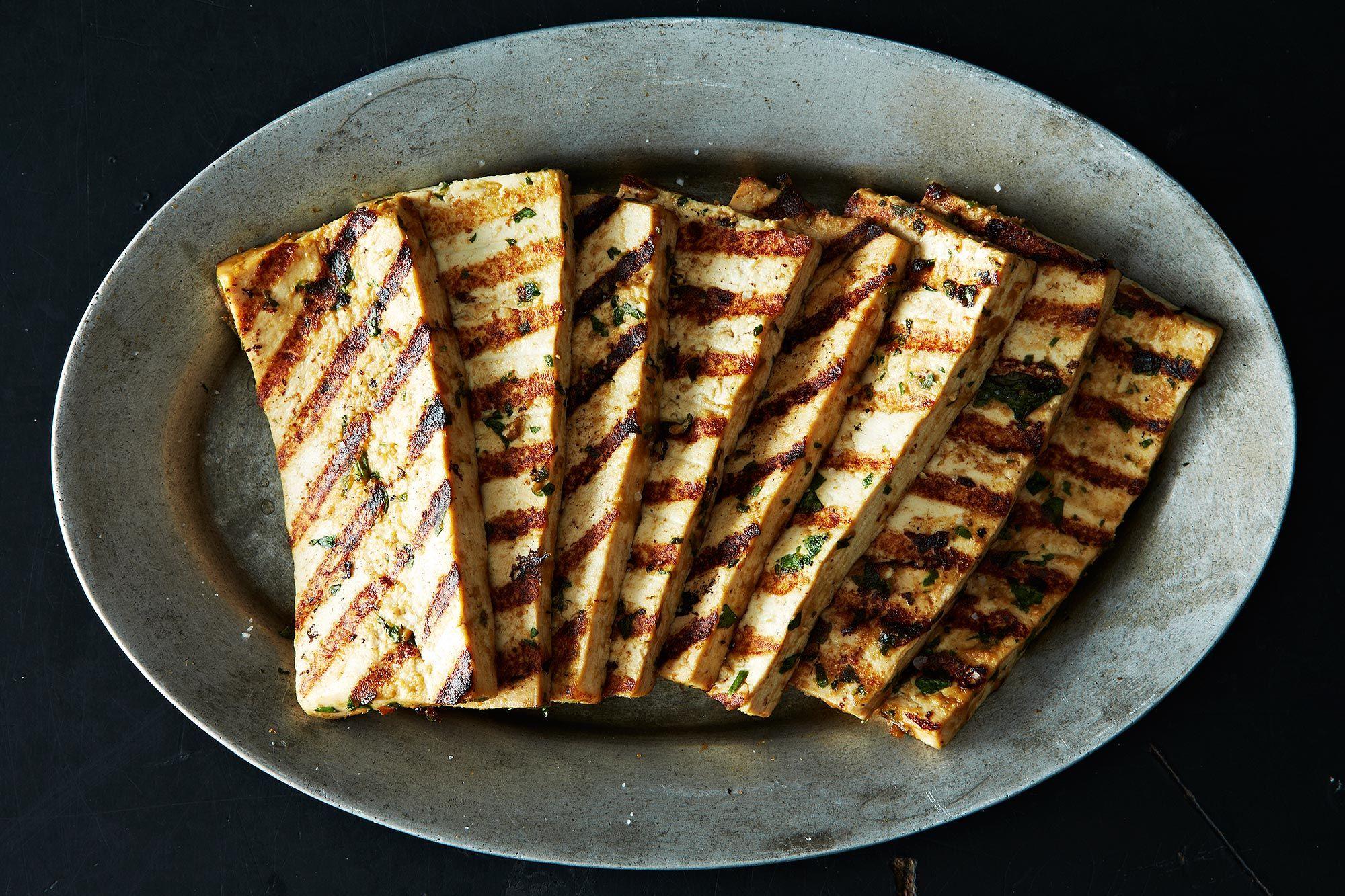Grilled Peanut Tofu on Food52