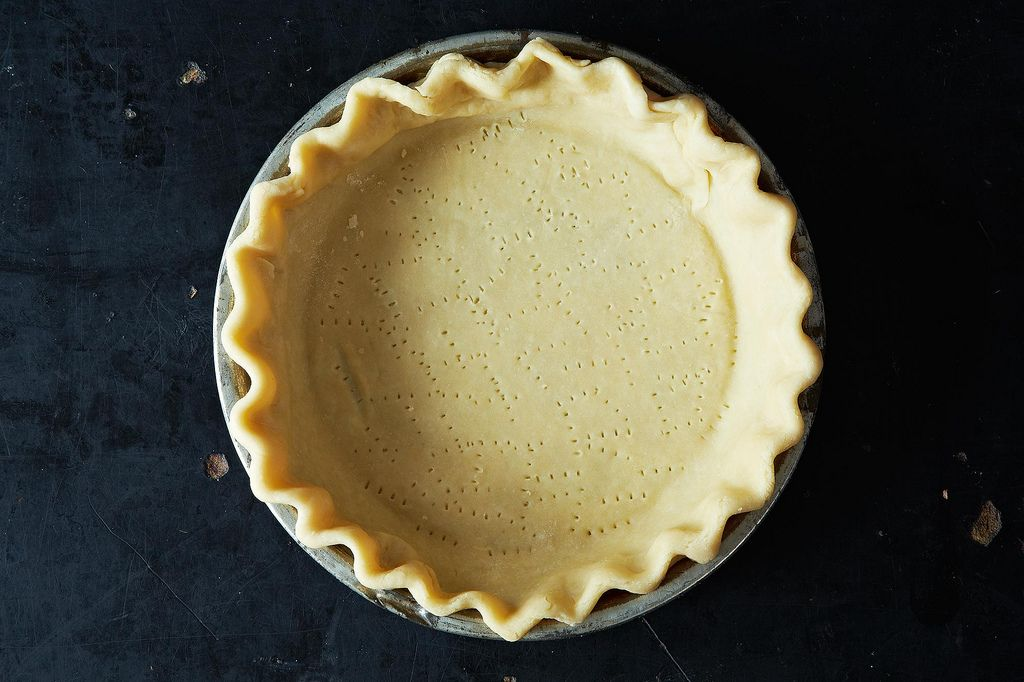 Docked Pie Crust