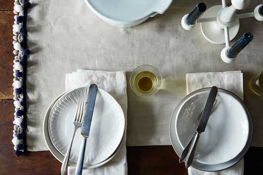 How to Make a Pom-Fringed Table Runner
